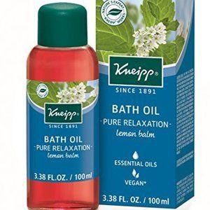 Kneipp Bath Oil, Pure Relaxation, Lemon Balm